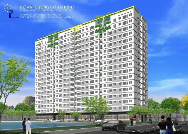 Căn hộ An Bình, Căn hộ trung tâm Quận Tân Phú, Căn hộ gần Đầm Se